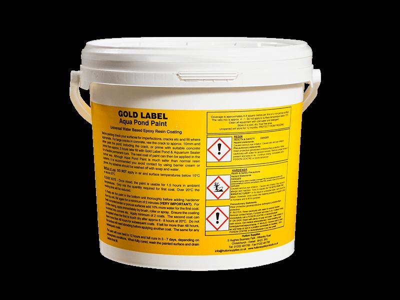 Gold Label Pond Paint - Hutton Aquatic Products